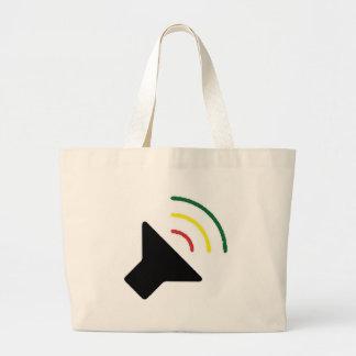 Saco alto da reggae bolsa