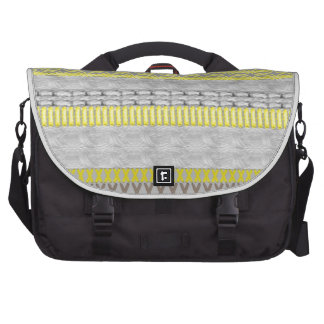 Saco cinzento do laptop do amarelo na moda moderno mala para notebook