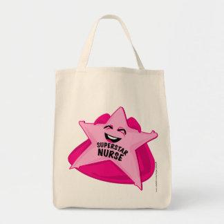 saco cómico da enfermeira da estrela mundial! bolsas