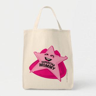 saco cómico da mamã da estrela mundial! bolsa para compra