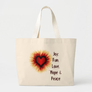 Saco da alegria, do divertimento, do amor, da espe bolsas para compras