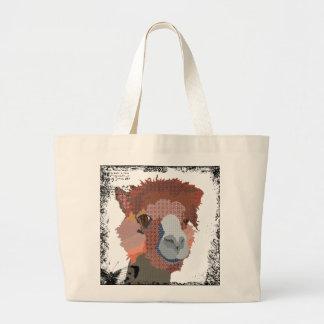 Saco da arte da alpaca do Al do vintage Bolsa