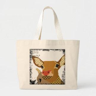 Saco da arte de Rudolph do vintage Bolsa