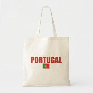 Saco da bandeira de Portugal Bolsa Tote