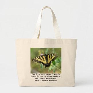 Saco da borboleta bolsa para compras