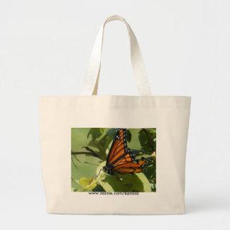 Saco da borboleta bolsas de lona