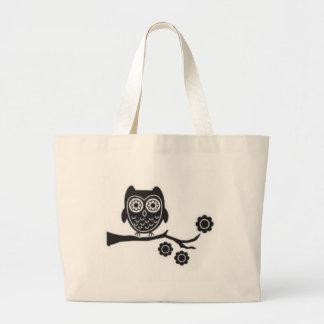 Saco da coruja bolsas para compras