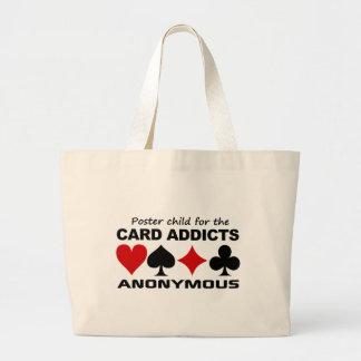Saco da criança do poster bolsas para compras
