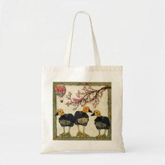 Saco da flor de cerejeira dos ganso bolsa de lona