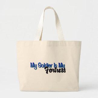 Saco da fortaleza bolsa para compras