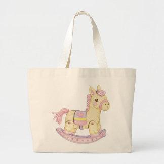 Saco da fralda do cavalo de balanço (rosa) bolsa para compra