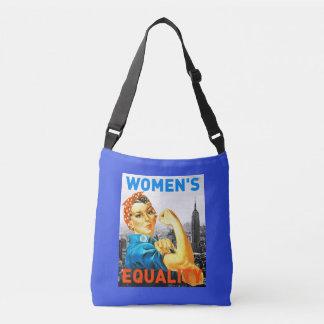 Saco da igualdade das mulheres bolsa ajustável