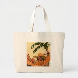 Saco da leitura da praia bolsas para compras