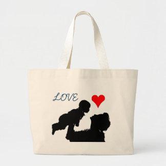 Saco da mãe e da criança bolsa para compra