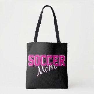 Saco da mamã do futebol bolsa tote