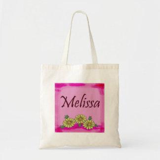 Saco da margarida de Melissa Bolsa De Lona