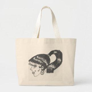 Saco da menina do encanto bolsa para compras