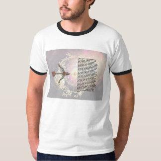 Saco da origem do Sagitário T-shirts