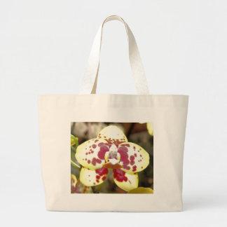 Saco da orquídea seis bolsa tote grande