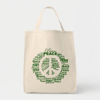 Saco da paz - escolha o estilo bolsa tote