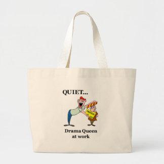 Saco da rainha do drama bolsas para compras
