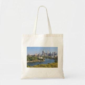 Saco da skyline de Philadelphfia Bolsa Tote