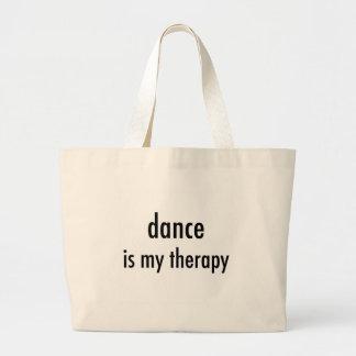 Saco da terapia da dança bolsa tote grande
