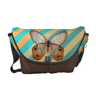 Saco da terra da borboleta bolsas mensageiro