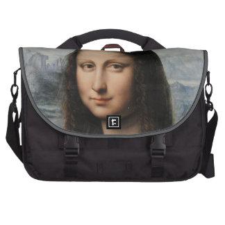 Saco da viagem ao trabalho do laptop de Mona Lisa Bolsas Para Computador Portátil