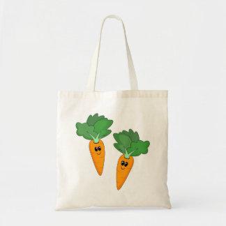 Saco das cenouras dos desenhos animados bolsa para compra