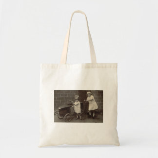 Saco das crianças bolsas de lona