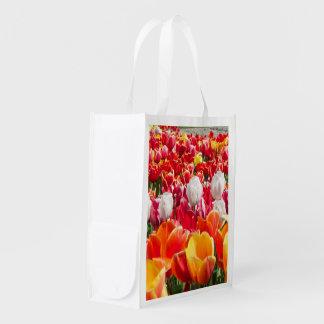 Saco das tulipas sacola ecológica