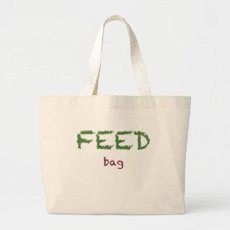 Saco de alimentação sacola tote jumbo