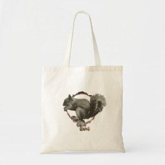 Saco de bolsa do esquilo dos amantes de natureza