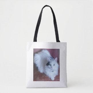 Saco de bolsa na moda do divertimento macio branco