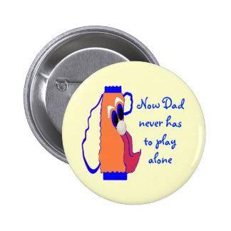Saco de golfe cómico do pai boton