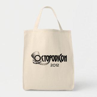 Saco de livro 2012 de OctopodiCon Bolsas Para Compras