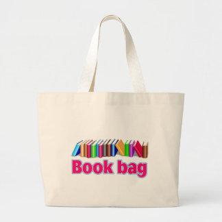 saco de livro bolsa tote grande