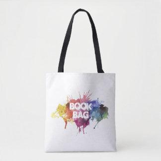 Saco de livro bolsas tote