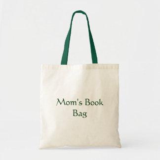 Saco de livro da mãe sacola tote budget