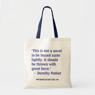 Saco de livro de Dorothy Parker Bolsa Para Compra