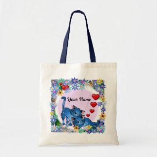Saco de livro dos amantes de livro bolsa para compras