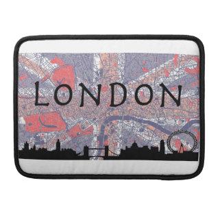 Saco de Londres Macbook Bolsas Para MacBook