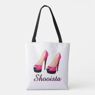 Saco de mão do bolsa dos sapatos femininos da