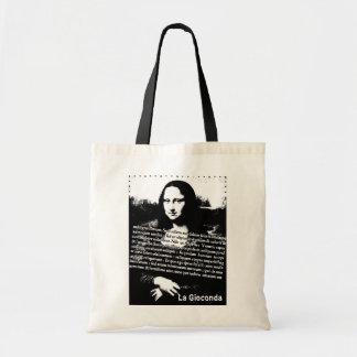 Saco de Mona Lisa Bolsas De Lona
