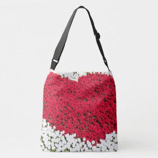 Saco do amor da tulipa bolsa ajustável