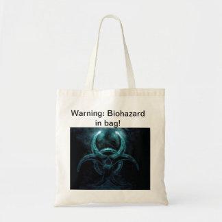 saco do biohazard bolsa de lona