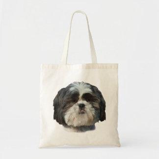 Saco do cão de Shih Tzu Sacola Tote Budget