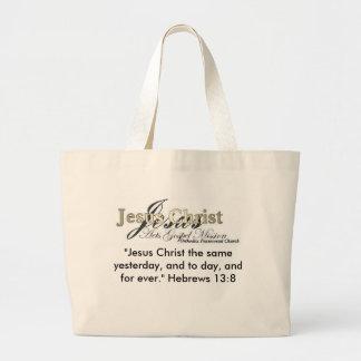 Saco do carregar da missão do evangelho dos atos sacola tote jumbo