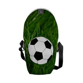 Saco do clipart do futebol bolsas mensageiro